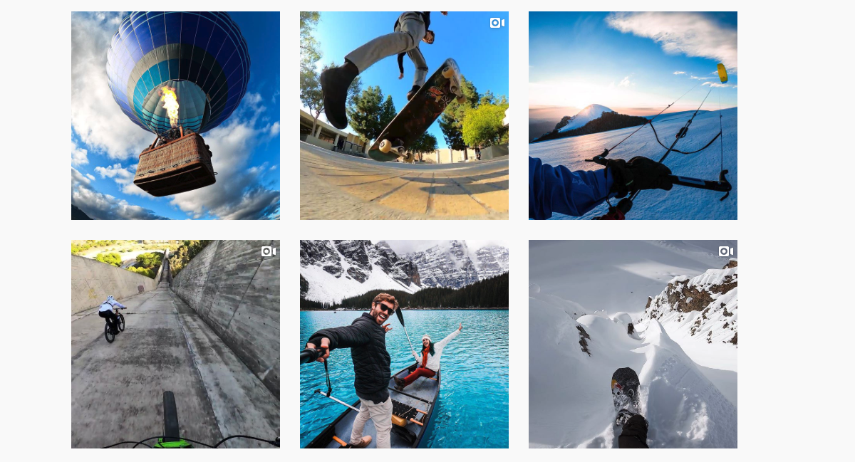 GoPro instagram photos